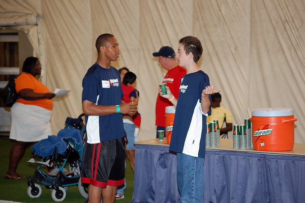 Texans Ability Camp Draft Party 2008