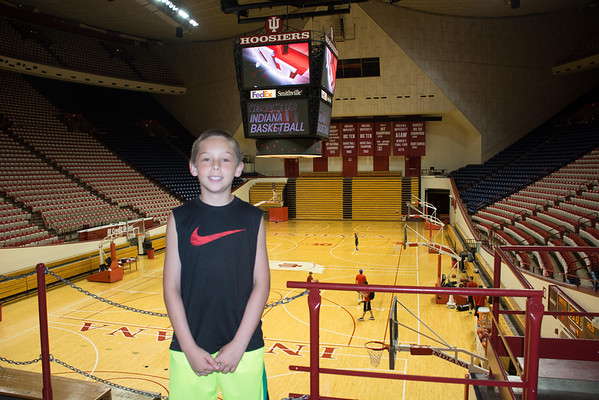 IU Basketball Camp 2014