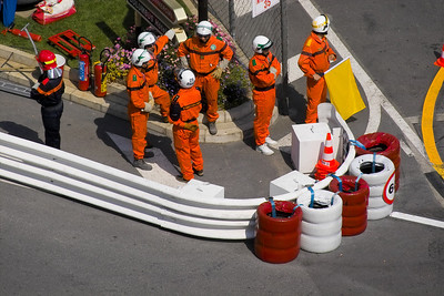F1 practice session