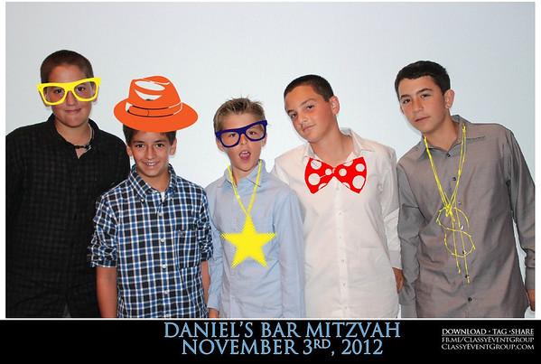 2012-11-03 Daniel's Bar Mitzvah