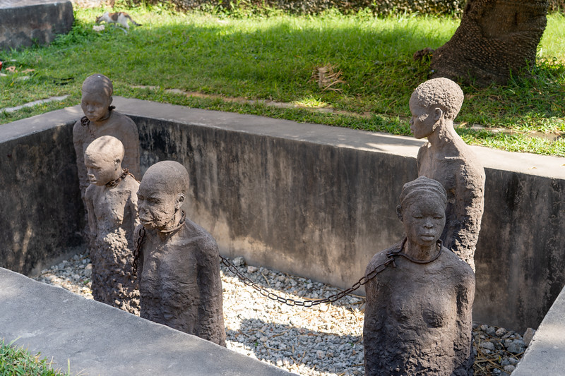 Slave Monument in Stone Town