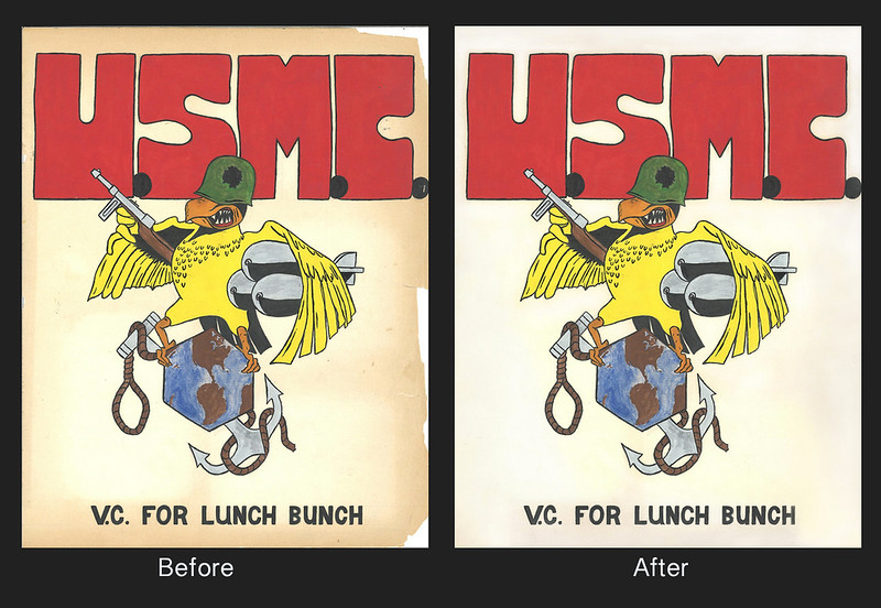 USMC-Before & After Restore