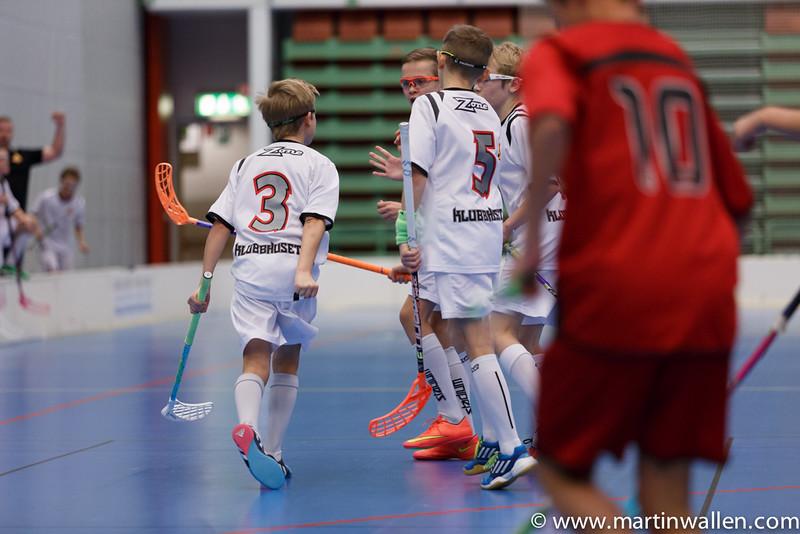 Filip Anvin #3 Firar målet Floda IBK vs IBK Lockerud, Coop Forum Cup 2015.