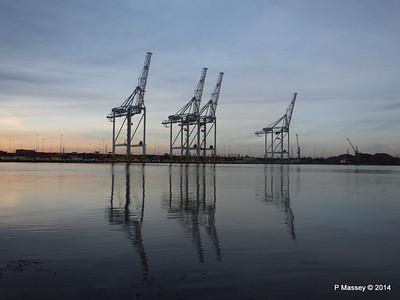 New Southampton Crane Construction 2013 - 2014