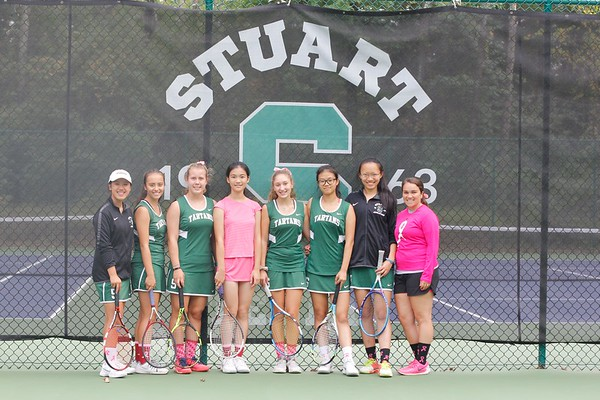 Pink Out Tennis and Field Hockey