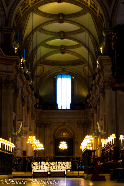 St Pauls Night Visit