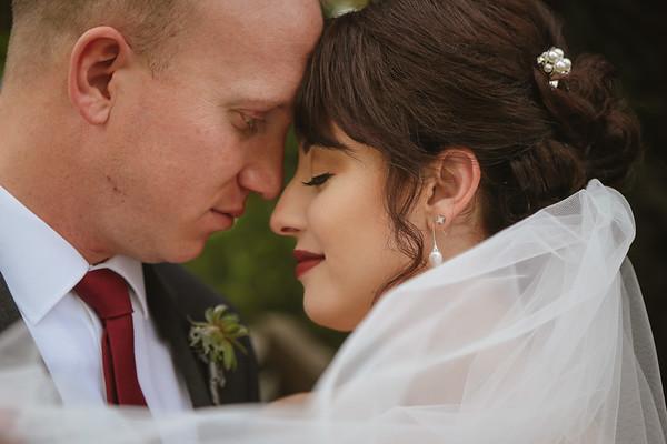 Breanne and Richard {Wedding- Alpine Ponds}