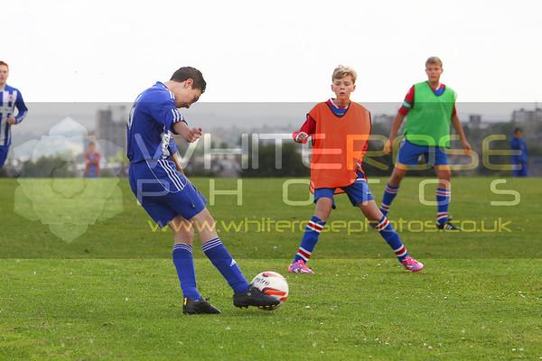 Under 15's  v Mexborough  16 - 08 - 15