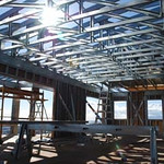 Makiki Project - Steel Truss & Panel