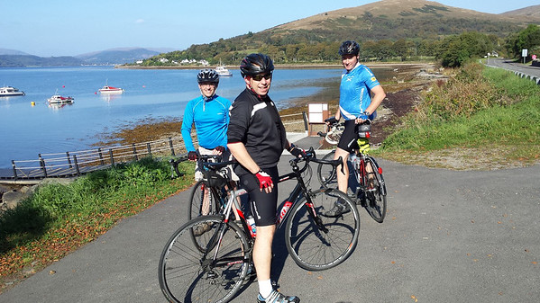 Club Cycle Meet, Circuit from Dunoon (21 Sep 2014)