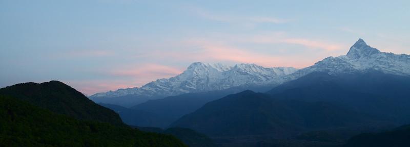 Day 5 - Annapurna sunrise view from sarangkot