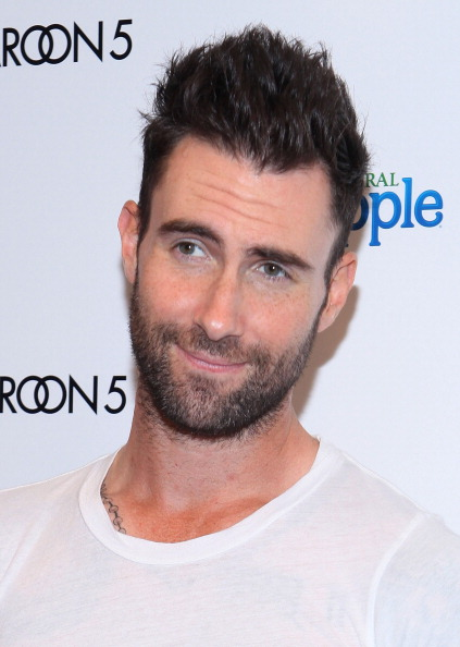 . NEW YORK, NY - AUGUST 26:  Maroon 5 frontman Adam Levine attends the Snapple Tea Will be Loved launch at the Hard Rock Cafe, Times Square on August 26, 2011 in New York City.  (Photo by Lisa Hancock/FilmMagic)