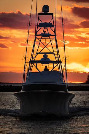 Vessels : Jupiter Inlet, Palm Beach Inlet & Bahamas