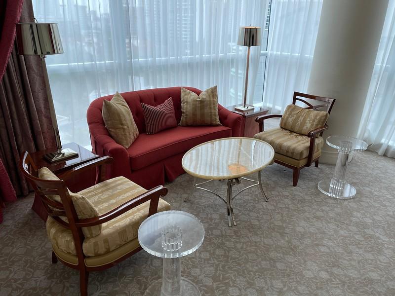 Caroline Astor Suite Living Room