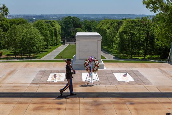 2018 Wreath Laying, Tomb of the Unknown