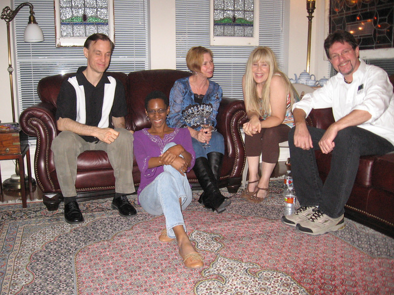 Bruce, Lisa, Mo, Kim and Richard