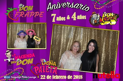 Aniversario Don Frappe & Don Maceta - February 22nd, 2018