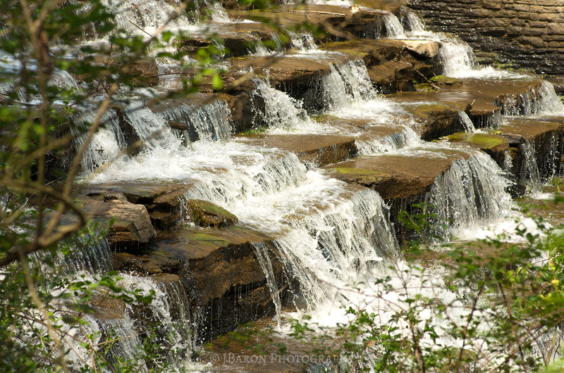 Springtime Waterfall at North Park