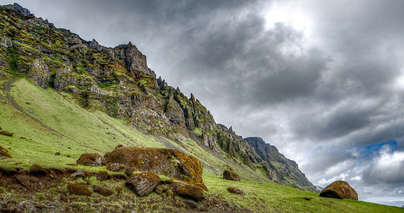 Iceland Mountains  Photography by Wayne Heim