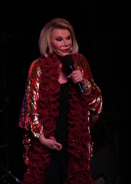Joan Rivers at the Westhampton Beach Performing Arts Center, 30 July 2011.