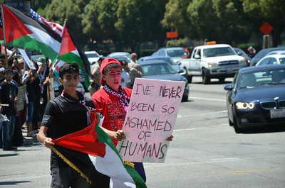 Gaza Massacre Protest ~ Aug 10 2014