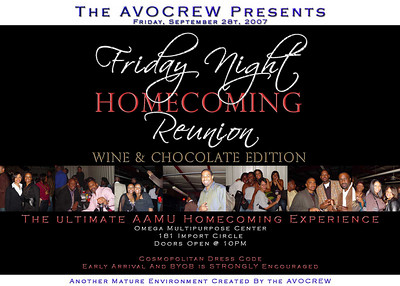 AAMU Homecoming Reunion 2007
