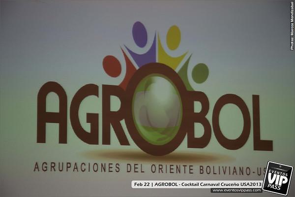 AGROBOL - Cocktail Carnaval Cruceño USA2013 @ Consulado de Bolivia | Fri, Feb 22