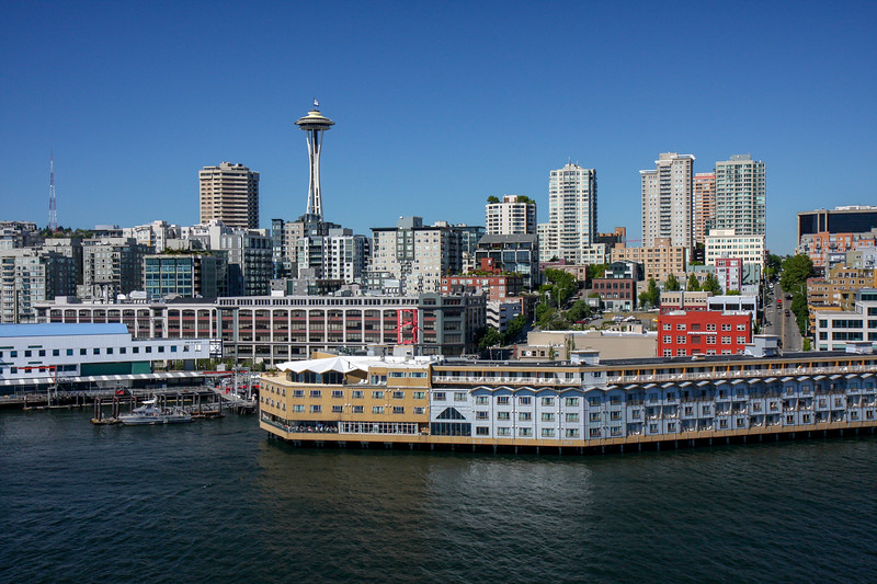 Edgewater Hotel on the Seattle Waterfront