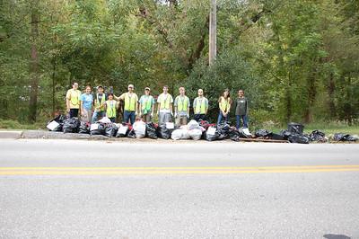 9.22.13 Patapsco River Cleanup in Oella