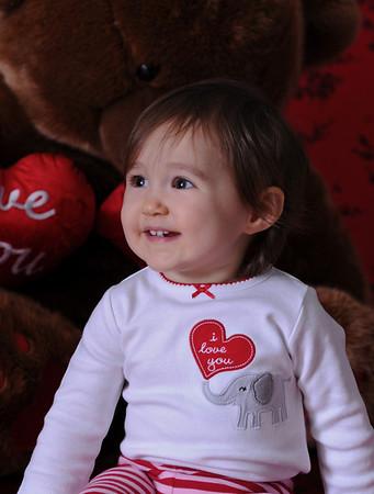 Valentine Portraits of Ella