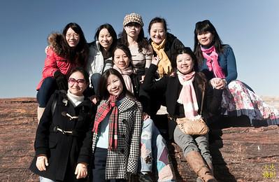 感恩节红岩溪流Sedona梦幻之旅, 2010