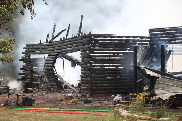 STRUCTURE FIRE CO RT 53 LOG HOME