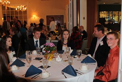 Fall 2014 Scholarship Reception