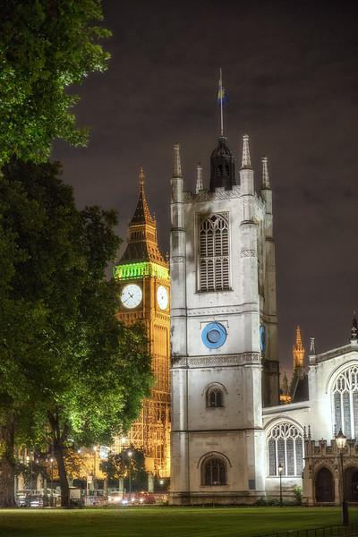 St Margaret's Church and Big Ben
