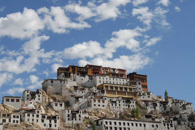 Thiksey Monastery in Ladakh India.