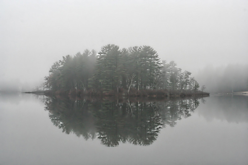Fog On Lake Naticook