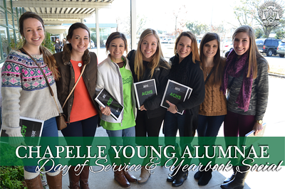 Young Alumnae Day of Service & Yearbook Social