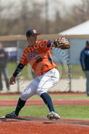 Wheaton College Baseball Doubleheader vs Augustana, April 19, 2019