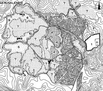 Jerusalem Masterplan 1950
