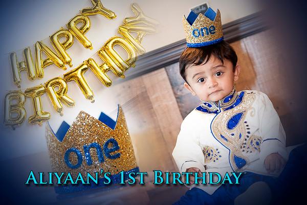 Aliyaan's 1st Birthday