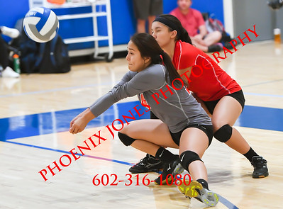 9-23-17 - Horizion Honors vs Valley Lutheran   (Desert Classic) Volleyball