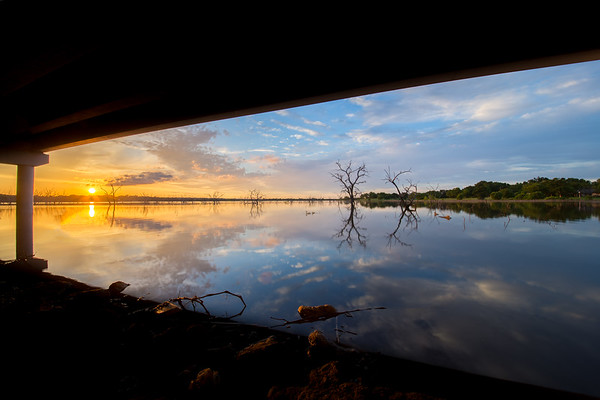 The Route 66 Troll's View of Lake Ray Hubbard
