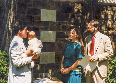 1988 Jessie's Naming at Temple Sinai
