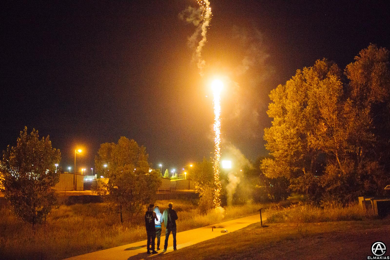 Fireworks by Adam Elmakias