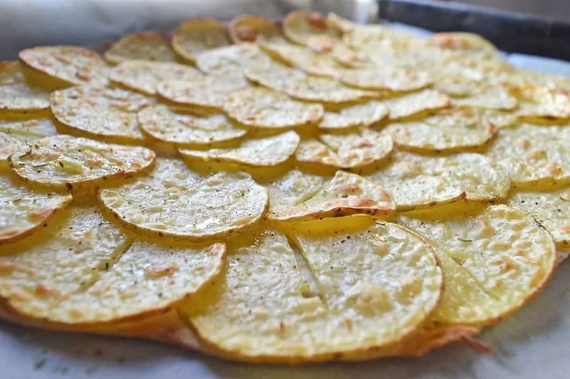 Vegan Italian Recipes - Potato Pizza