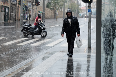 20141019 First Seasonal Rainfall in Jerusalem