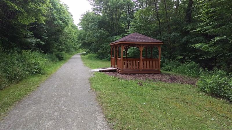 Gazebo near Twin Rocks