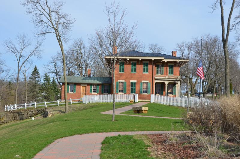 President Grant's post Civil War home. Galena, IL.
