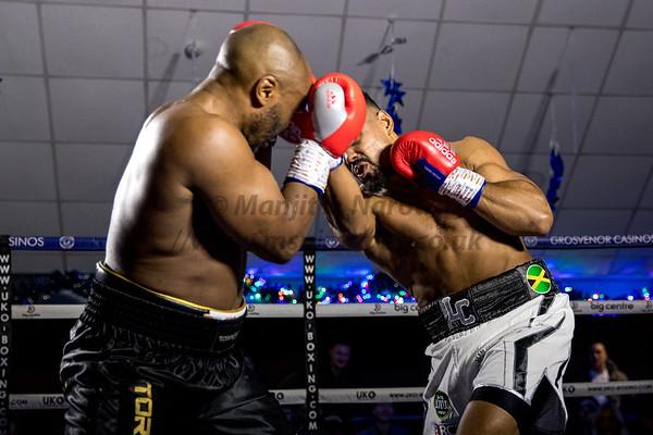 Lennox Clarke vs Elvis Dube