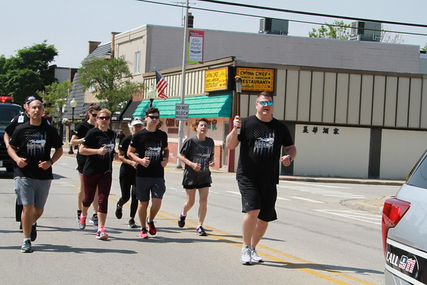 Police Department Special Olympics Torch Run